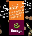 """""""Świeć się"""" na Święta – konkurs na najpiękniejsze iluminacje świąteczne w Polsce"""